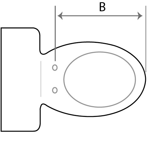 How to measure your toilet pan when selecting the right size bidet 1