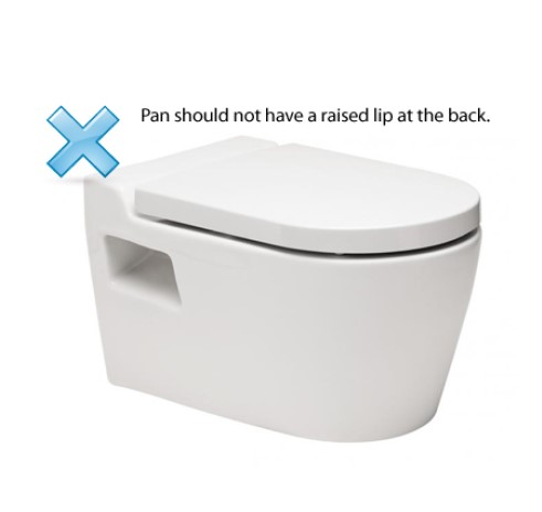 How to measure your toilet pan when selecting the right size bidet 4