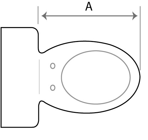 How to measure your toilet pan when selecting the right size bidet